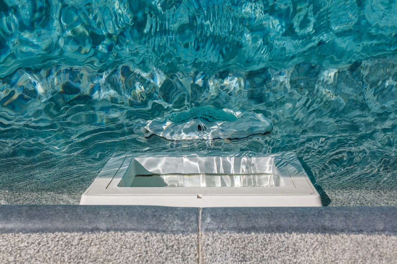 Pool-water-filtration-system.-Pure-water.-View-from-above