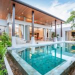 luxury-home-or-house-building-Exterior-and-interior-design-showing-tropical-pool-villa-with-green-garden